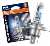 OSRAM H4 spuldze NIGHT RACER 110 / Spilgtums  110% 4052899929654 :: OSRAM NIGHT BREAKER