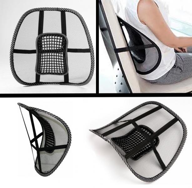 Masieris + muguras jostasvietas atbalsts automašīnā