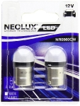 NEOLUX LED R5W / BA15S 6000K 0,8W 12V NP0560CW 4052899477612 :: NEOLUX LED (Gaismas diodes)
