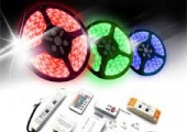 LED virtenes / LED Lentes 12V un 220V