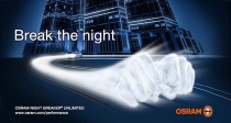 OSRAM H3 NIGHT BREAKER UNLIMITED / Stara garums +40m halogēna spuldze 4052899016729 :: H3